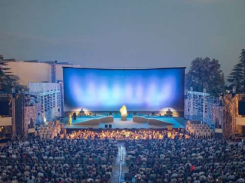 Open Air Theatre in Opatija – A venue of various entertainment programmes