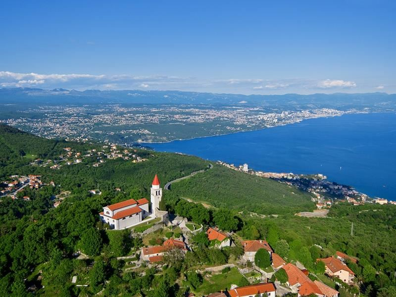 Veprinac – Discover the most beautiful view of Kvarner Bay